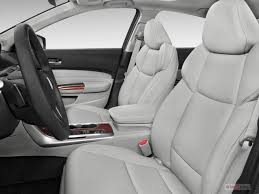 2017 acura tlx front seat