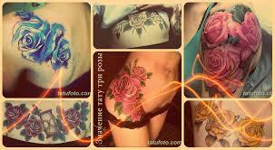 значение тату три розы смысл история фото эскизы рисунков