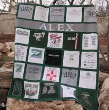 Best 25+ T shirt blanket ideas on Pinterest | T shirt tutorial, T ... & Buttons and Butterflies: Strake Jesuit Personalized {T-shirt Quilt} Adamdwight.com