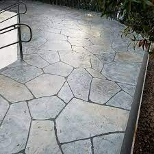 stamped concrete overlay cost