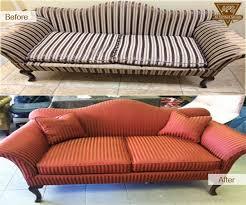 sofa repair antique restoration wood leather finishing dyeing fix