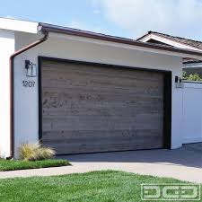 interior modern wood slat garage door faux doors for look with windows los angeles modern wood
