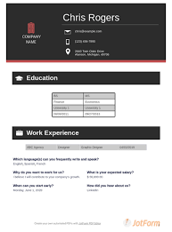 Creative letters, cards, lovely, stationery, and sarah image ideas & inspiration on designspiration. Curriculum Vitae Template Pdf Templates Jotform