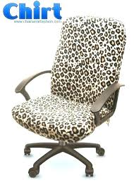 leopard office chair. Fuzzy Desk Chair Cover For Office Leopard Print Gallery Of F