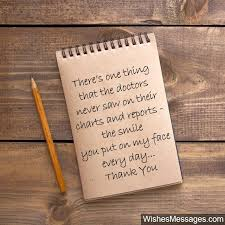 Thank You Not Thank You Notes For Nurses Quotes And Messages To Say