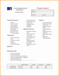 Cleaning Proposal Template Cleaning Business Proposal Template Best Of Business Plan Cleaning