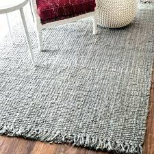 chunky jute rug loop a cottage in the city wool natural 8x10