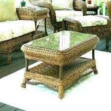 brown wicker coffee table wicker side table resin wicker side table wicker coffee table round wicker