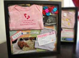 Memory Box Decorating Ideas A Bountiful Love DIY Baby Memory Frame Box 56