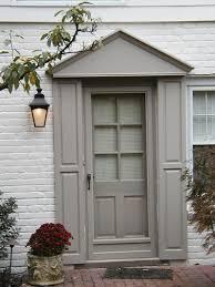 Exterior Front Door Shutters
