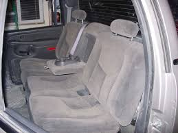 2003 2007 chevy avalanche rear 60 40