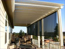patio solar shades roll down sun shade outdoor privacy over deck exterior screens full out awning