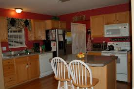 Red Kitchen Paint Interior Sweet Pictures Of Red Paint For Kitchen Decorating