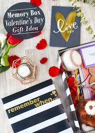 memory box for your spouse a thoughtful easy valentine s day gift idea