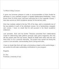 Reference Letter For Coworker Reference Letter For Coworker Graduate School Recommendation