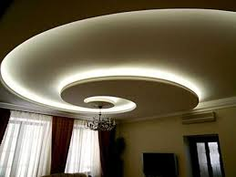 roof lighting design. spiral ceiling design blue color lighting roof i