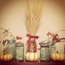 fall decorating coffee beans mason jars amanda jane brown