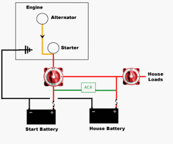 marine dual battery isolator wiring diagram images diagram wiring diagram dual battery isolator kit switch