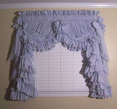 image detail for country ruffle curtains and ruffled priscilla curtains at delores