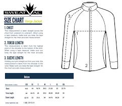 Jacket Length Chart Sizing Guides