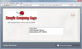 Amazon Com Envelope Printer Lite Download Software