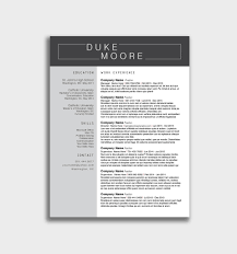 015 Microsoft Student Resume Template Free Word Download For