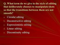 Ch6 Editing Ppt Video Online Download