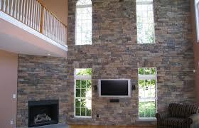 modern interior design medium size love stone interior accent walls so easy to do with diy