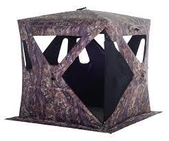 clam 9643 woodland camouflage elite hunter ground blind