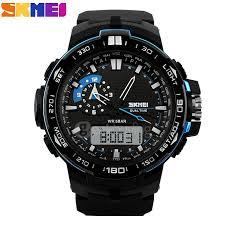 skmei 1081 waterproof outdoor sports digital analog watches skmei 1081 waterproof outdoor sports digital analog watches men led electronic oversized dial quartz watch