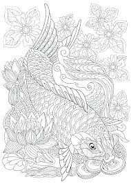 Sea Animals Coloring Page Ocean Pages Animal Games Life For Adult