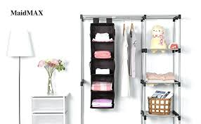 hanging closet organizer home depot diy fabric ikea