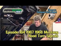 1967 1968 turn signal hood light install sequentials episode164 1967 1968 turn signal hood light install sequentials episode164 autorestomod