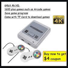 <b>4K 64bit HD</b> For <b>Arcade</b> Mini TV Video Game Console Retro Built-in ...