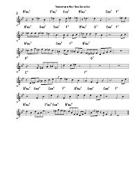 Miles Davis Solo Transcription Of Oleo Learn Jazz Standards