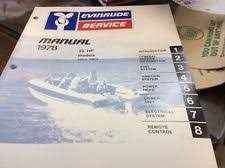 55hp outboard 1978 evinrude 55 hp 55874 55875 outboard motor service manual