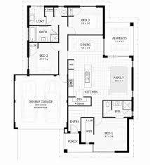 2 Story House Floor Plans With Measurements Beautiful 3 Bedroom House Plans  U0026 Home Designs
