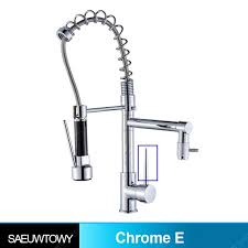 Deck installation Chrome Spring 360° Rotating Shower Kitchen ...
