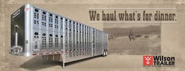 grain livestock flatbed gooseneck wilson trailer rotator