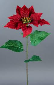 Details Zu Weihnachtsstern 56cm Rot Ar Kunstblumen Seidenblume Künstliche Poinsettie