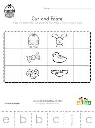 Free phonics worksheets from k5 learning; Easter Beginning Sounds Cut And Paste Worksheet All Kids Network