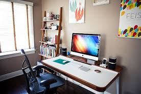 office work desk. Modern Minimalist Home Office Desk Amalgamates Ergonomic Design With Elegant Form Work