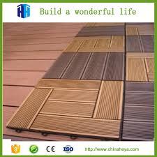 Wood Deck Waterproof Interlocking Composite Decking Wood Fence