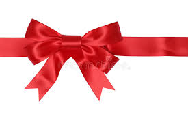 Red Ribbon Gift With Bow For Gifts On Christmas Or Valentines Da Gifts On Christmas