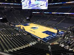 Fedex Forum Memphis Grizzlies Seating Chart Fedex Forum Section 107a Memphis Grizzlies Rateyourseats Com