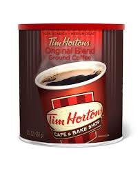 tim hortons original ground coffee um roast 32 oz cannister walmart