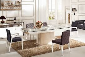 Modern Glass Dining Table Modern Glass Dining Table Country Table Set Bamboo Sticks In Vase