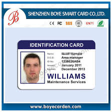 sample id cards china oem portrait printing sample photo id cards for employee