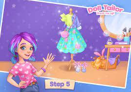 Thời trang Dress up game cho bé gái. May quần áo cho Android - Tải về APK