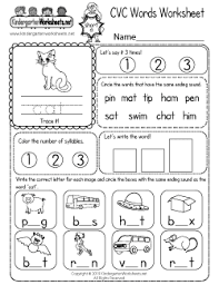 For further details about these standards, please click here. Free Kindergarten Phonics Worksheets Connecting Spoken Words With Letters